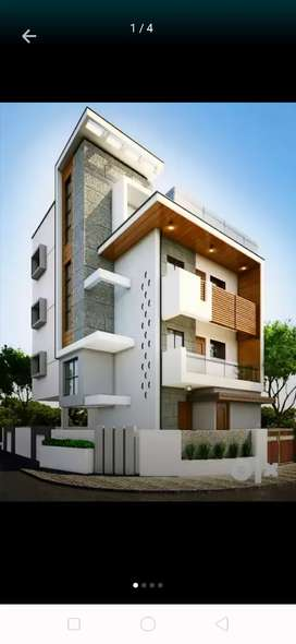 Architect work home design interior wooden work tile work all are here