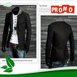 Blazer Black Homme Korean Style