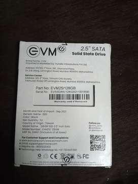 EVM 120 GB Sata SSD 5Years Warranty