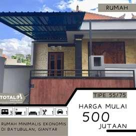 Rumah Minimalis Harga Ekonomis BUC Di Batubulan Sukawati Gianyar