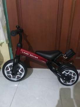 Sepeda anak land rover 3 in 1