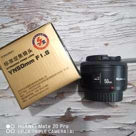 YN 50mm f1.8 For Canon