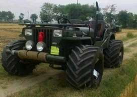 Open modified willy jeep