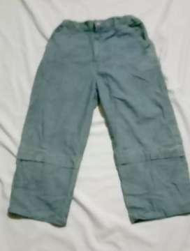 Celana jeans anak POPEYE pinggang karet Usia 10-12 tahun