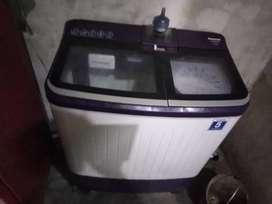 Panasonic company new washing machine with new condition with bill