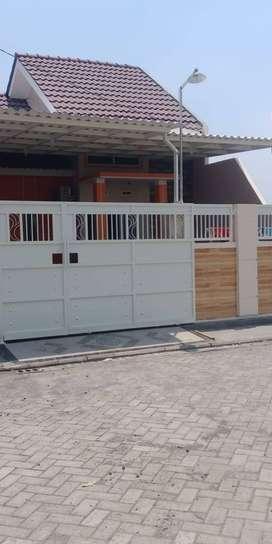 Pagar rumah pagar besi minimalis