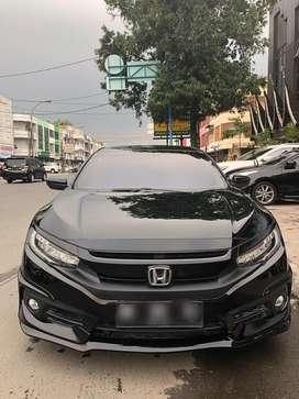 Honda Civic Turbo Sedan CVT Hitam 2016