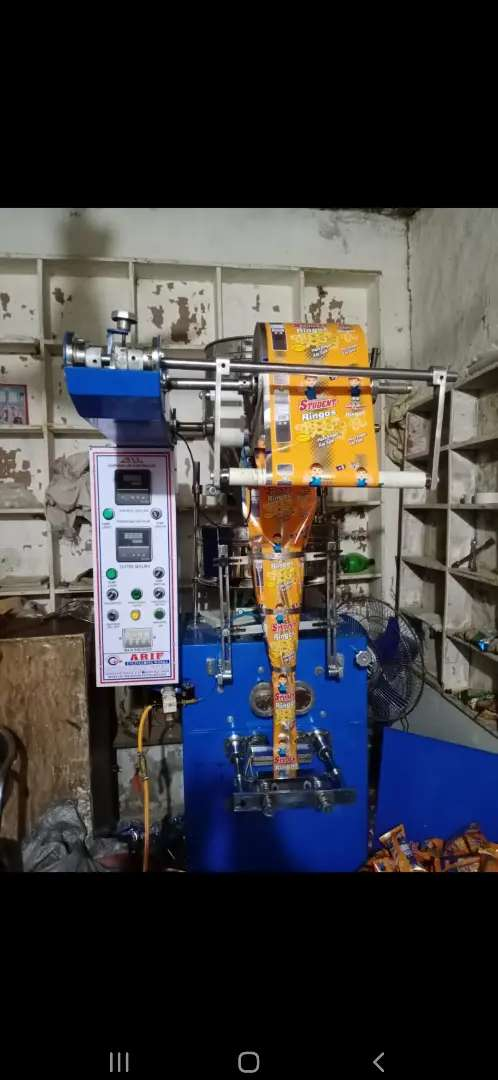 Salanty Packing Machine with Dryer
