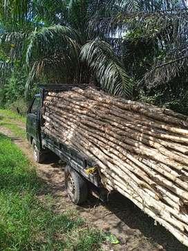kayu gelam ukuran 6x8 dan 8x10