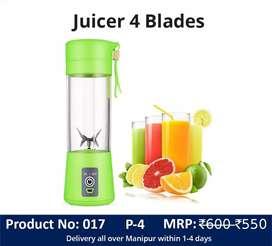 Household Juicer 4 Blades