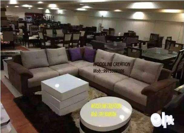 New Brussels Sofa Set Brown Cream Purple WDC-1040 0