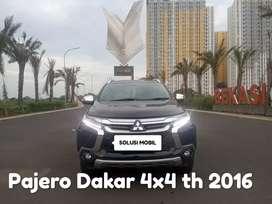 Dijual PAJERO DAKAR 4X4 TH 2016