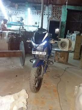 TVs Apache rtr 160 double disk good condition bike