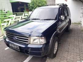 Ford everest xlt manual th 2003 plat AD Solo pajak gres