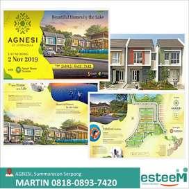 Rumah brand new Cluster AGNESI, desain arsitektur modern