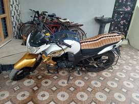 New tyrs good condition bike