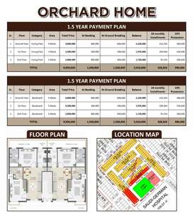 Orchard Home 2 Bed Apartment Only 2 lac on