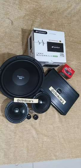 Paket Peerles (sub.power.split) + Headunit + Kamera DHD