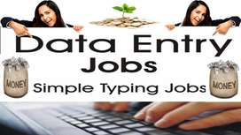 Work from Home Data entry Jobs home based part time