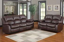 New Laungh sofa set Seven Seater in imported Leatheright