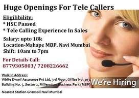 Job For Tele Sales Officer