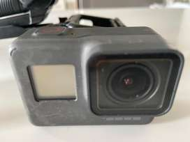 Sparingly used go pro hero black with extra batteries charfing unit