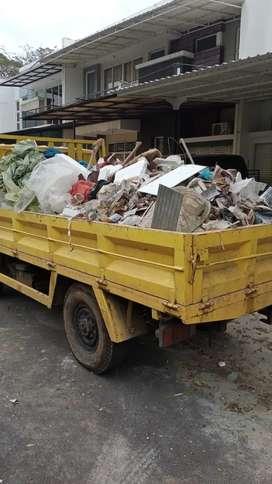 Jasa buang puing sampah proyek urugan dll