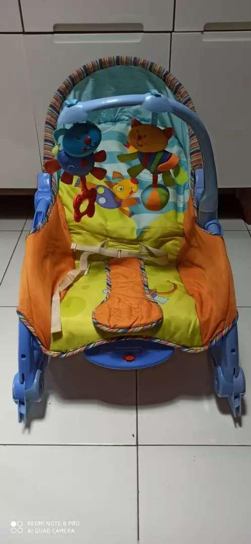 Ayunan portable rocker/ tempat duduk bayi 0