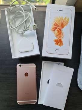 iPhone 6s 128GB Rose Gold Fullset Ori