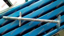 Jack base scaffolding merk TM diameter 32mm