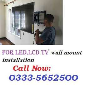 Lcd Tv installation services - Electrician Services