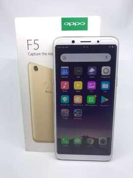 Oppo F5 Mulus ram 4GB