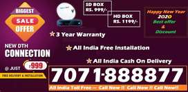 Tata Sky DTH Distributor #No.1 Tatasky D2H Dish Seller All India- COD