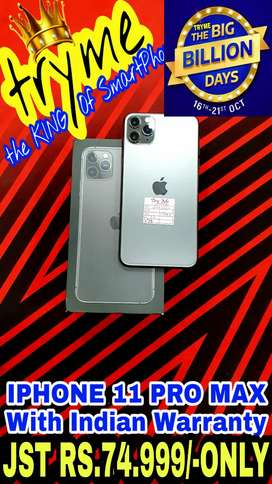TRYME IPHONE 11 PRO MAX.Full Kit Box Brand New Conditions