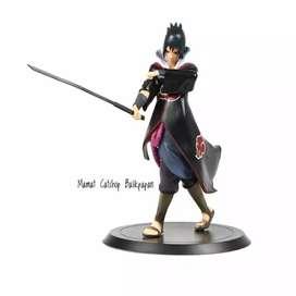 Action figure Mainan Sasuke jubah akatsuki miniature toy