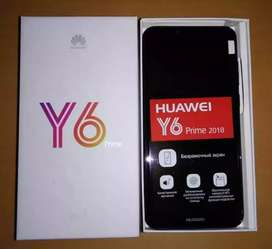 Huawei Y6 Prime Complete Box New Cell 10/10 Everything ok garantee