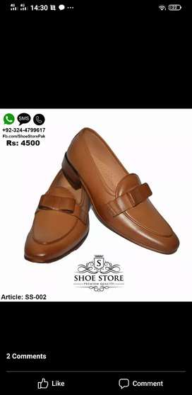 Leather shoe 11number