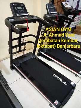 Promo Treadmill listrik multifungsi terlaris Ready bisa Cod