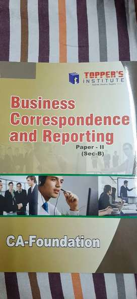 Business Correspondence and Reporting CA FOUNDATION