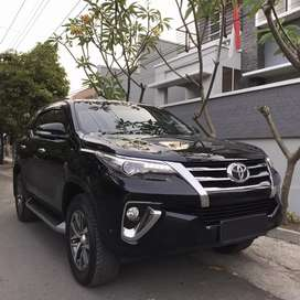 Fortuner VRZ 2016 Hitam Matic Asli Jateng Low KM