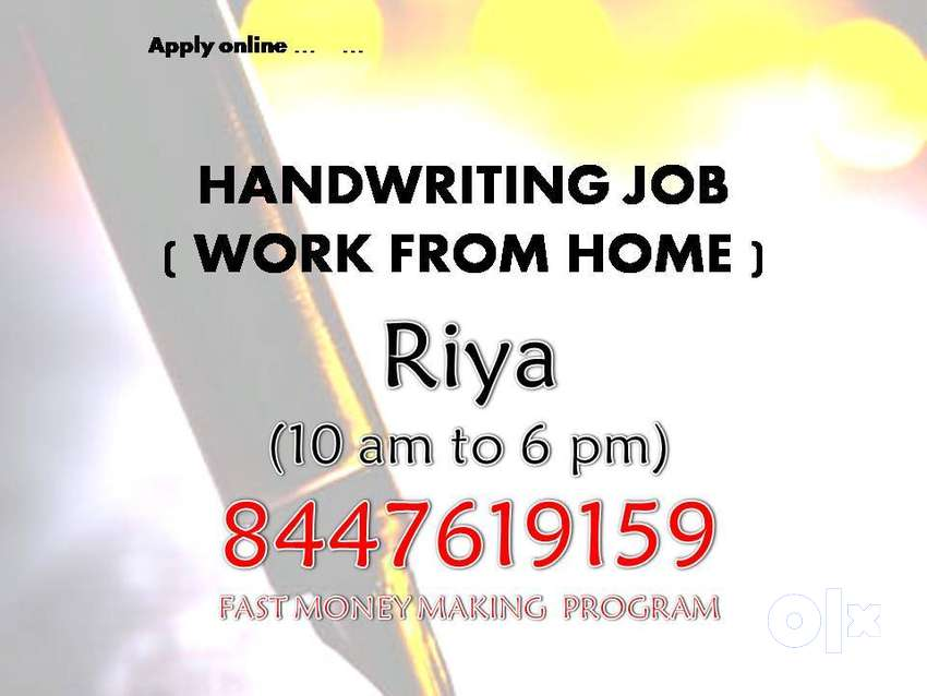 work from home Simple Novel Handwriting   SIMPLE NOVEL HANDWRITING JOB 0