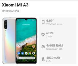 Brand new phone Xiaomi A3 box bill charger available
