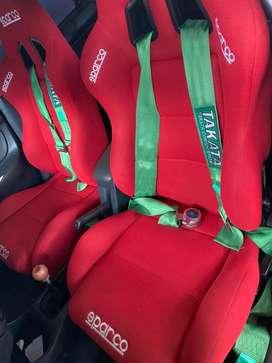 Seatbelt takata 4titik