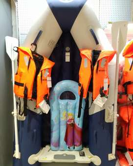 Perahu karet LCR kap 4 orang import