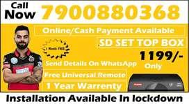 New Airtel DTH Dishtv HD SD Box Airteltv All over india offer @1199/-