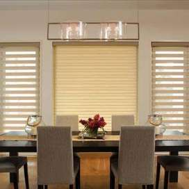 window  blinds vinyl floor wood floor
