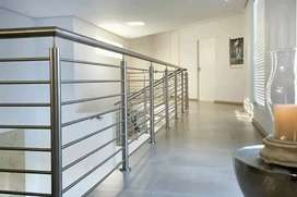 railling tangga dan balkon stainles 400