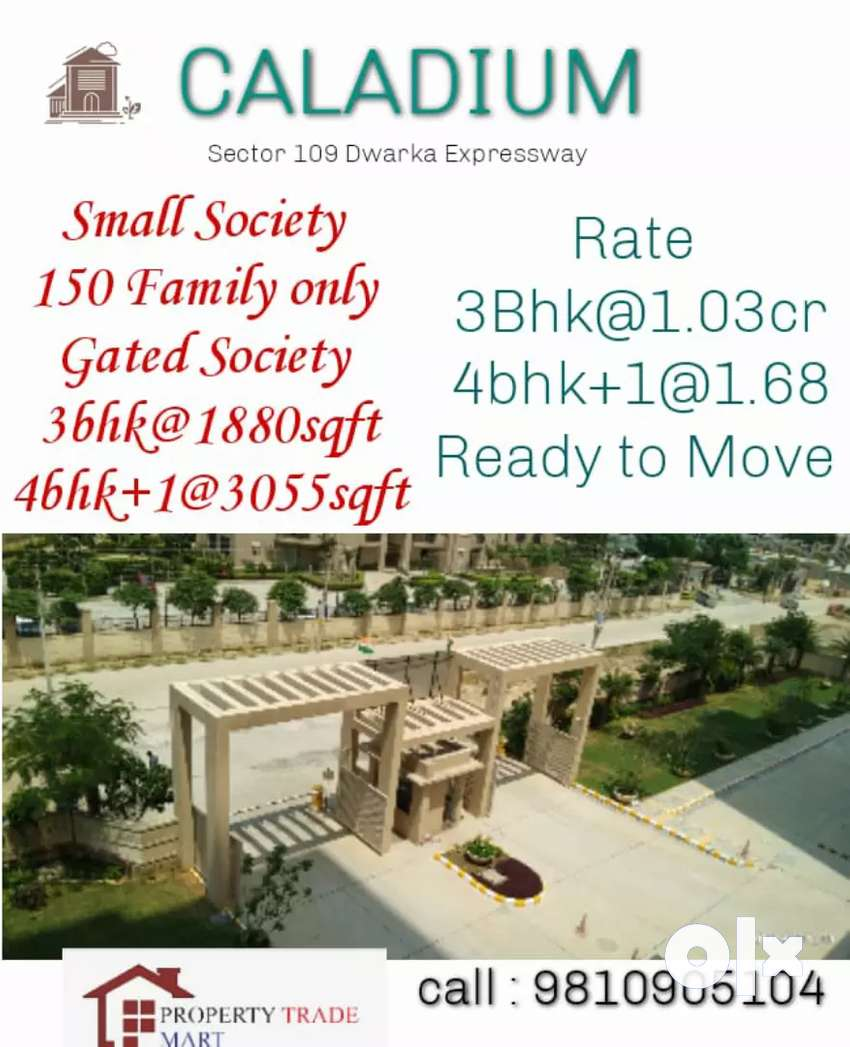 4Bhk Apartment for sale in gurgaon Dwarka EXPRESSWAY SECTOR 109 0