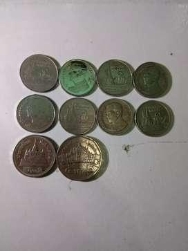 Uang koin lama Thailand