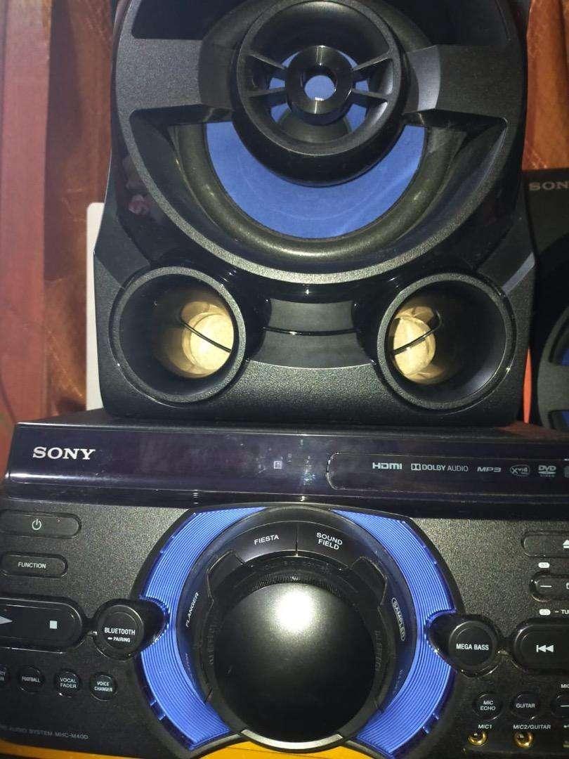 HOMETHEATER AUDIO SONY MHC-M40S 0
